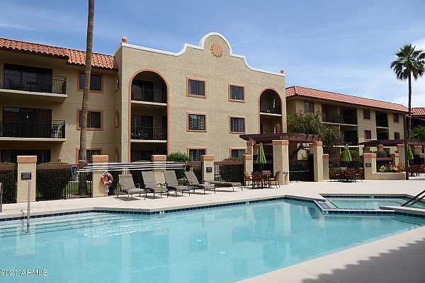 Photo #1 Pool courtyard with outdoor dining