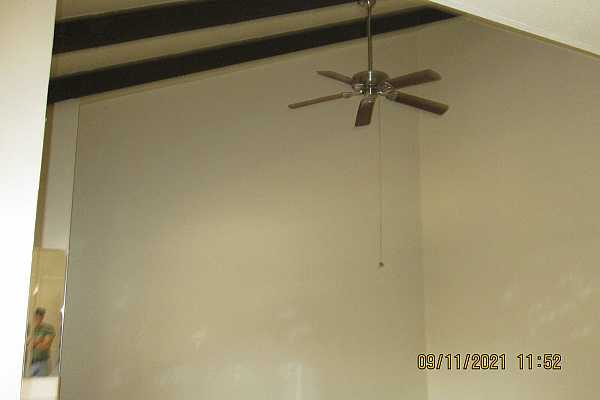 Photo #4 Beamed vaulted ceiling in great room