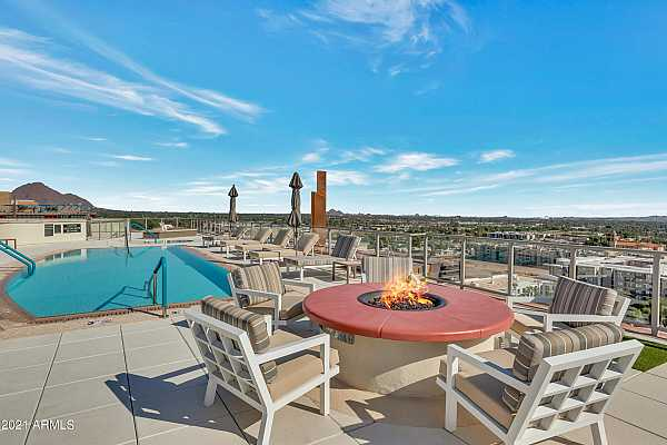 Photo #1 Roof Top Pool and Fire Pit