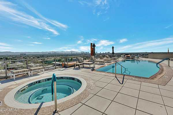 Photo #1 Roof Top Pool & Jacuzzi