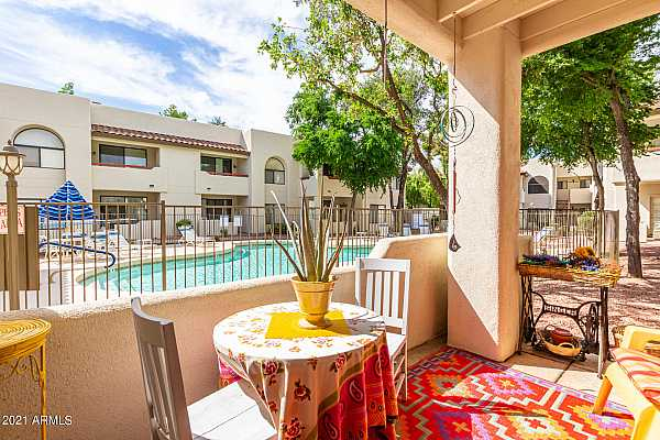 Photo #1 750 E Northern Patio and Pool View - Cop